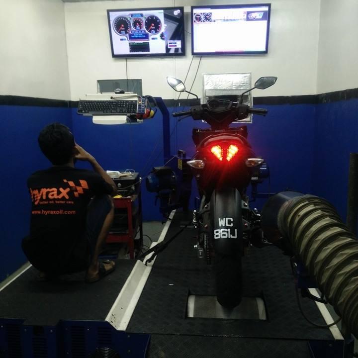 YAMAHA Y15ZR MODIFIED   REDSPEED MOTORSPORT KUALA LUMPUR