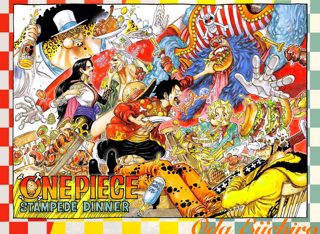 One Piece Manga Chapter 951 - Image 002