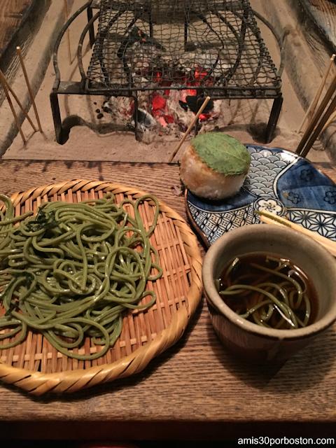 Cha Soba en esta Izakaya de Tokio