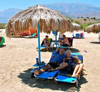 Palapa Day Wayne Pat Dunlap Georgioupoli Crete Greece