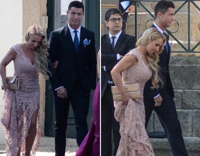 Cristiano Ronaldo dan Marisa Mendez