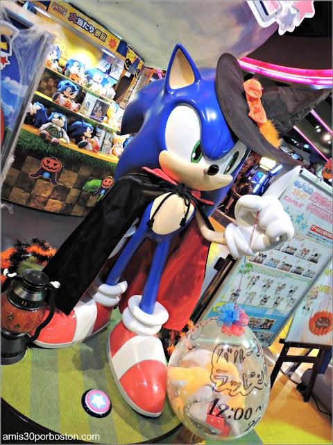 Sega en el Tokyo Joypolis de Odaiba