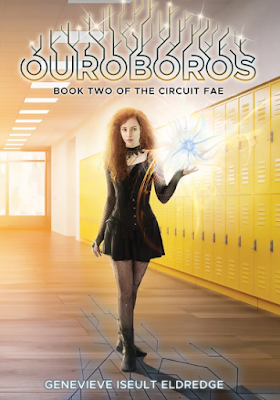 Ouroboros, Circuit Fae, Genevieve Iseult Eldredge, book review, YA, Fantasy, LGBTQIAPK