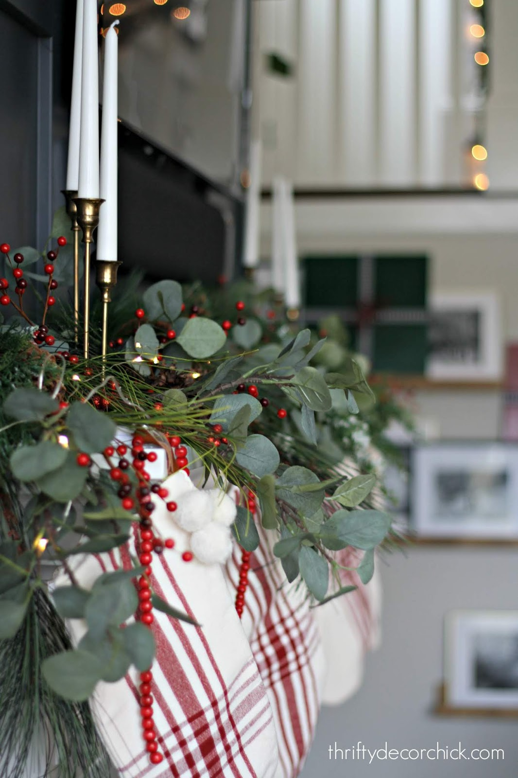 Using eucalyptus in Christmas decor