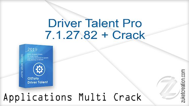 Driver Talent Pro 7.1.27.82 + Crack
