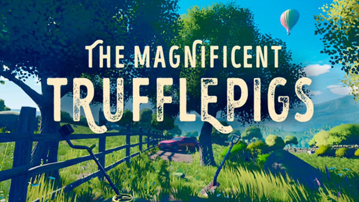 The Magnificent Trufflepigs is the new adventure from the creator of Everybody's Gone To The Rapture