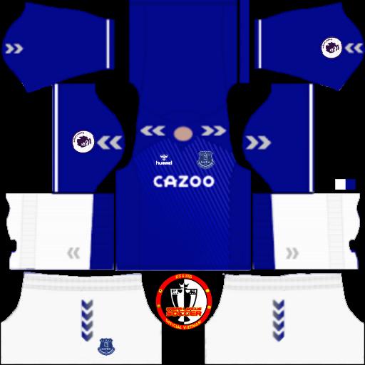 Kits Everton 2021 - Dream League Soccer 2019 & FTS