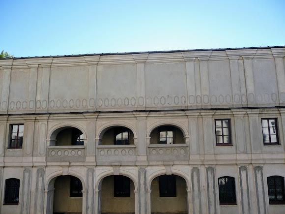 Бердичів. Фортеця-монастир Ордена Босих Кармелітів. Кріпосна стіна