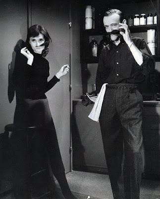 Audrey Hepburn detrás de las cámaras