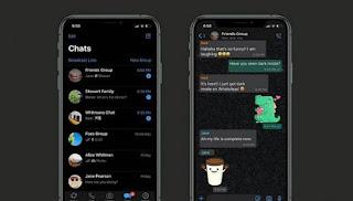 Cara Merubah Whatsapp ke Mode Gelap