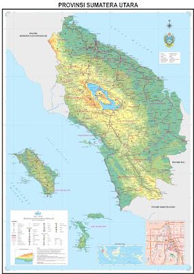 Peta Kota Sumatera Utara Hd Klik Ukuran Penuh Gambar