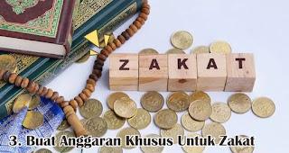 Buat Anggaran Khusus Untuk Zakat merupakan salah satu tips mudah kelola keuangan jelang lebaran