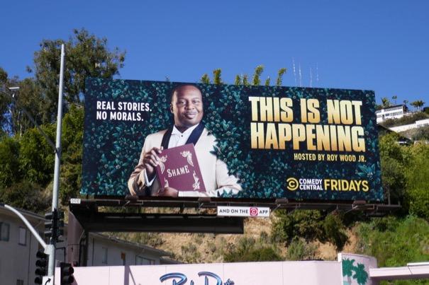 This Is Not Happening season 4 billboard
