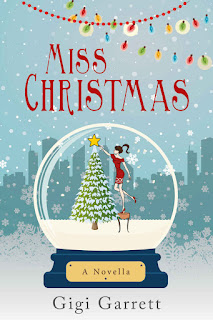 'Miss Christmas' by Gigi Garrett: Smart, Fast-Pace Christmas Romance in a Novella Package. Thoughts on the cute seasonal rom-com! Text © Rissi JC | Miss Christmas Novella Review