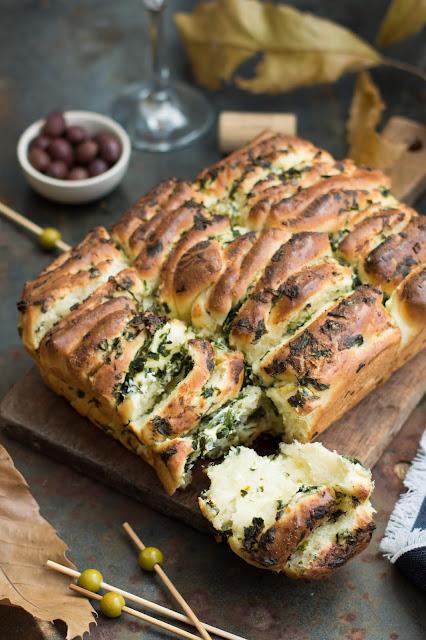 Brioche au fromage, ail et persil