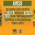 IBITIARA-BA: AVISO ( FICAM TEMPORARIAMENTE SUSPENSAS AS REALIZAÇÕES DAS FEIRAS LIVRES)