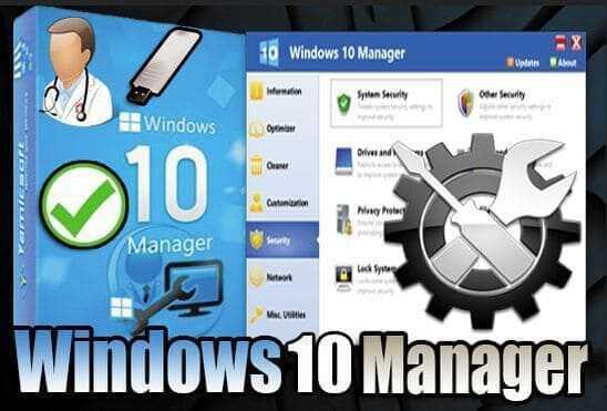 تحميل برنامج Windows 10 Manager 3.3.5 Portable نسخة محمولة مفعلة اخر اصدار