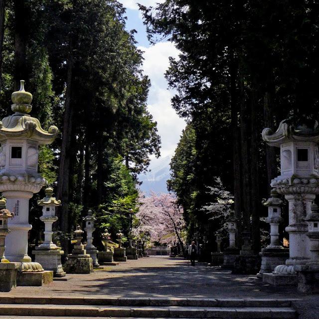 河口湖 冨士御室浅間神社
