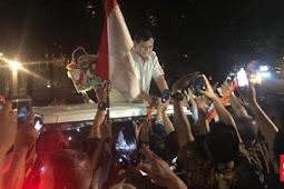Ajaib! Bukan Jokowi, Tapi Prabowo Yang Disambut Meriah Rakyat Walau Kalah Di MK