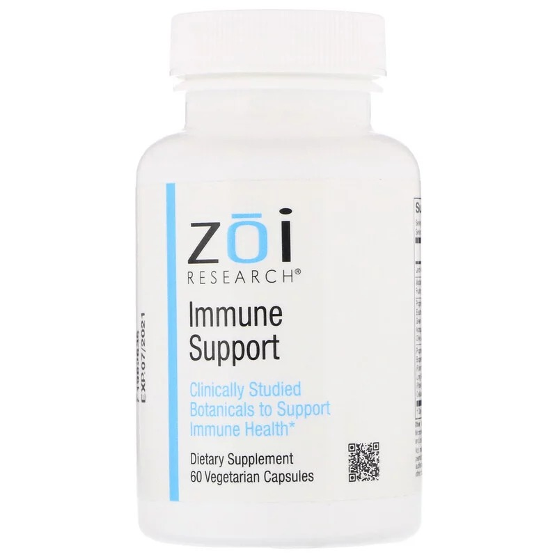 ZOI Research, Immune Support, 60 Vegetarian Capsules