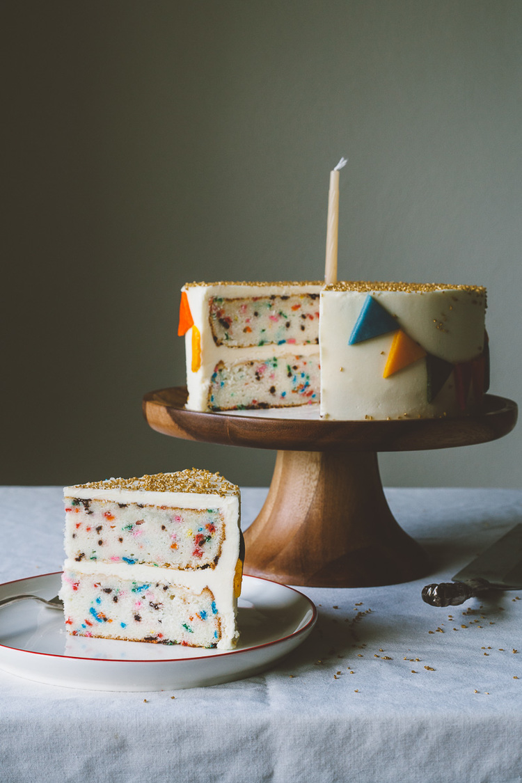 Funfetti Cake: romantic recipes for valentine's day on hello lovely studio