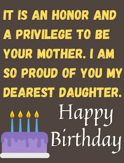 mom birthday wishes for daughter