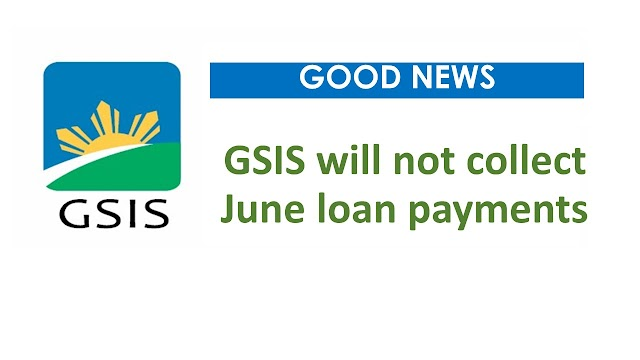 GSIS will not collect June loan payments