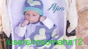 Patrones de Manta de Bebé motivo corazones al crochet