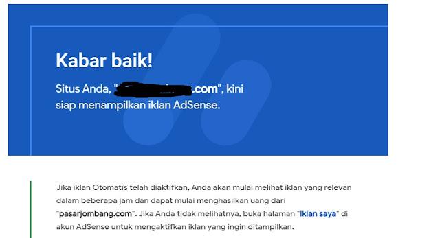 atasi domain my.id ditolak adsense