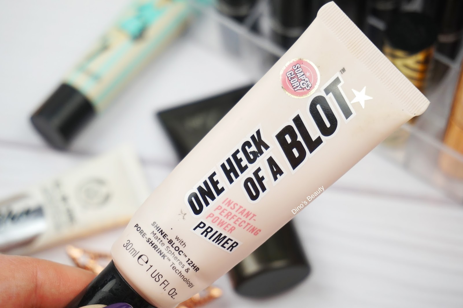 bbloggers, beauty, beauty bloggers, beauty review, Clinique, Superprimer, The Body Shop, Instablur, Soap and Glory, One Heck Of A Blot, Benefit, POREfessional, No7, Stay Perfect, primer, makeup primer, base, makeup base