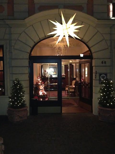 Heidelberger Weihnachtsmarkt Hotel Holländer Hof
