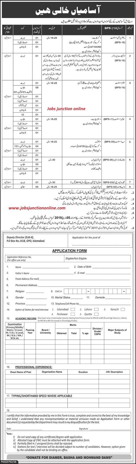 Govt Organization P.O Box 1418 Islamabad Jobs 2019 by Pakistan Army
