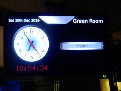 Backstage Radio 1 Green Room