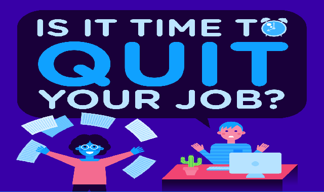 Is it time to quit your job? #infographic