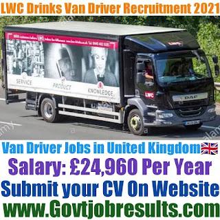 LWC Drinks Van Driver Recruitment 2021-22