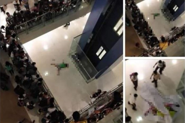 Girl commits suicide at Megamall on Valentine's Day
