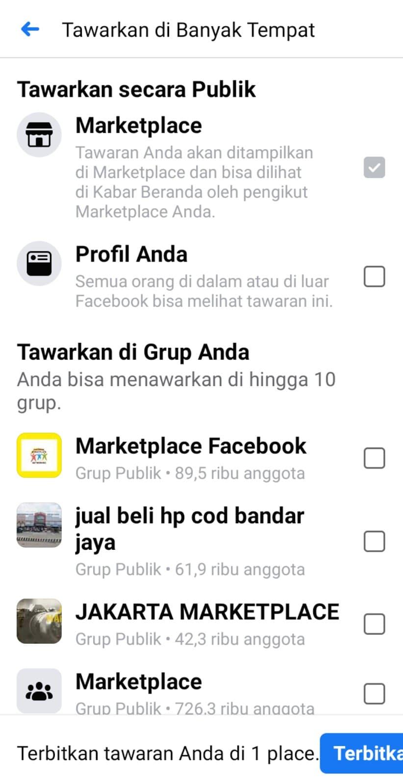 Cara Jualan di Marketplace Facebook (FB) Biar Makin Laris