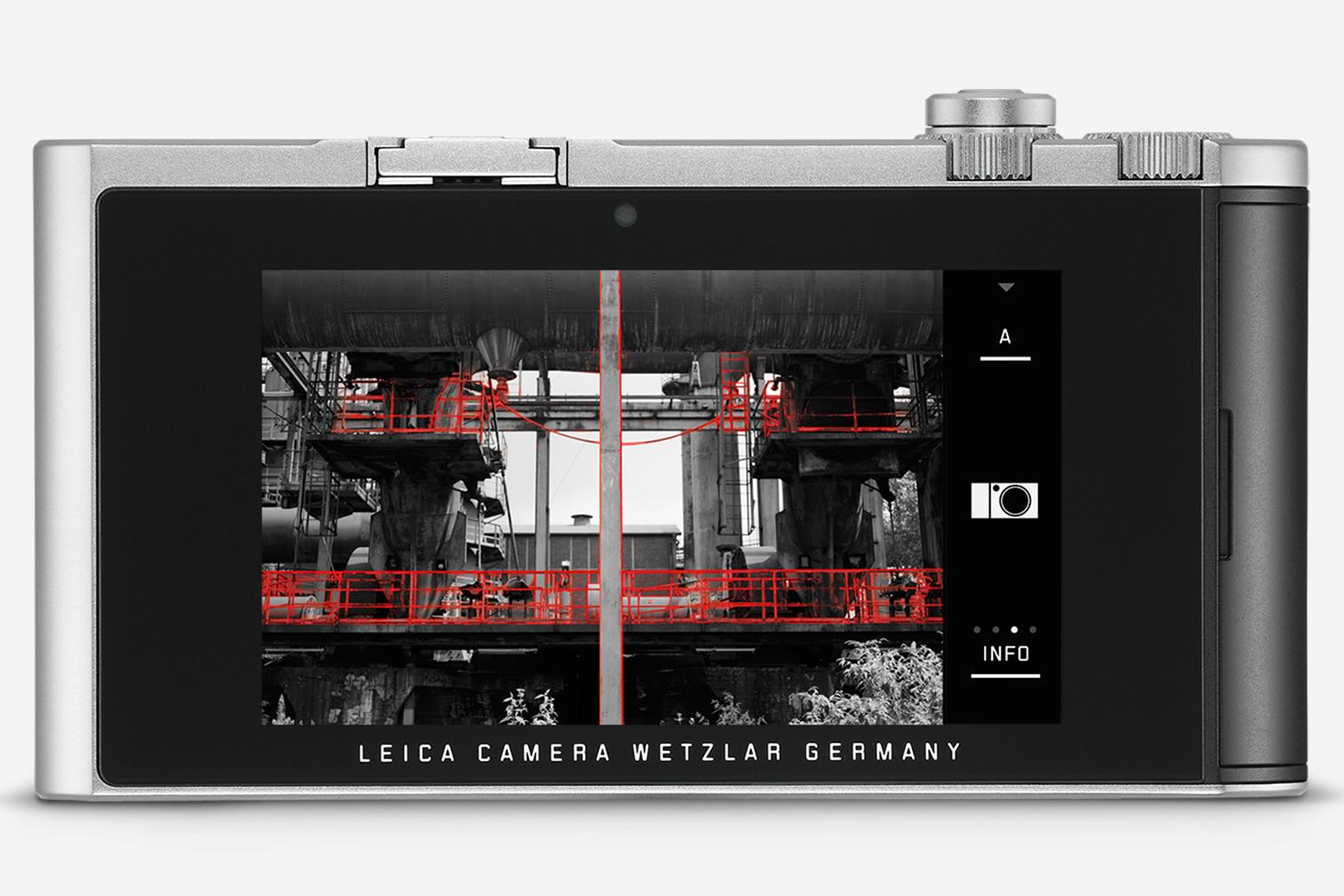 Leica TL2, вид сзади