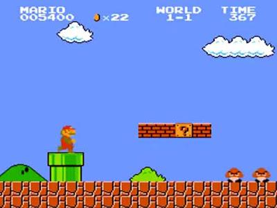Super Mario Bros in sala giochi