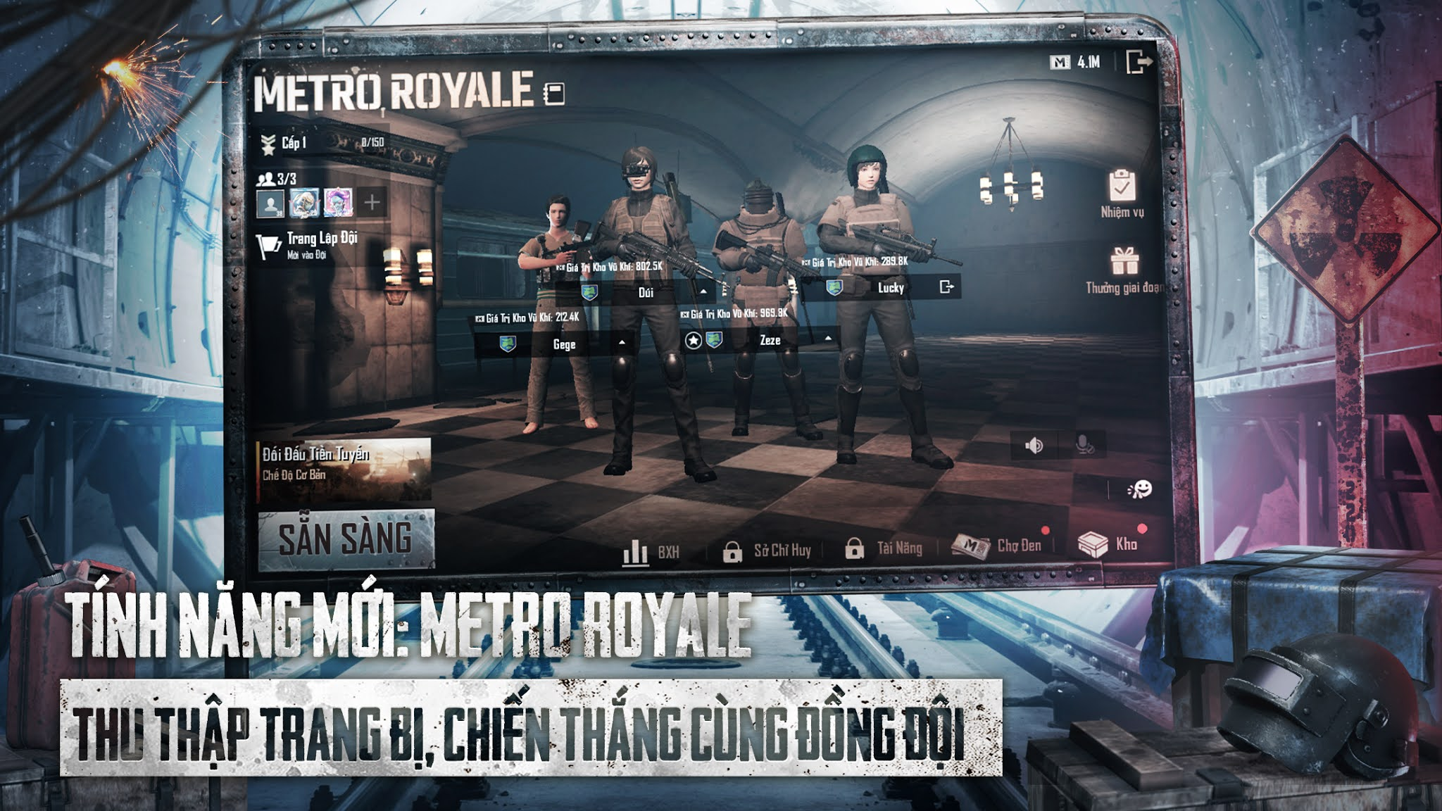 Different versions of PUBG Mobile