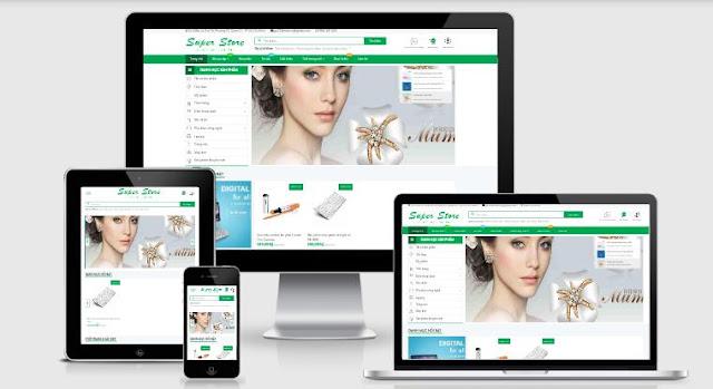 15 Toko Online E-Commerce Template Blogger Blogspot Terbaru