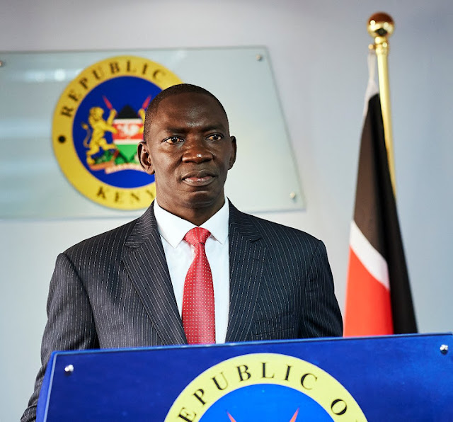 Government Spokesman Cyrus Oguna confirms to be tested COVID-19 positive despite denying it earlier.