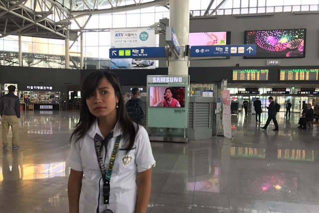 LRT TRAIN TO BUSAN (FROM LEGARDA)?! Look Where This Student Went During Her Vacant Time At School