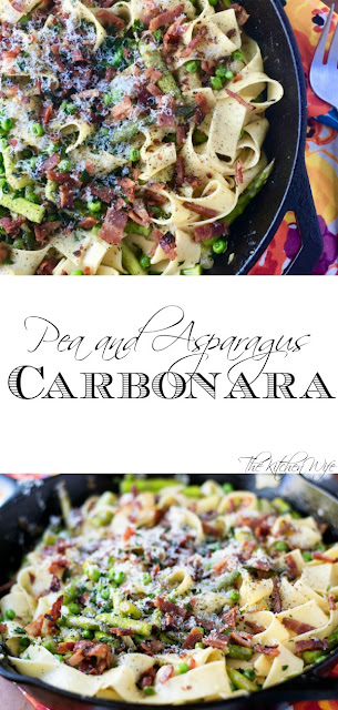 Pea-and-Asparagus-Carbonara-Recipe