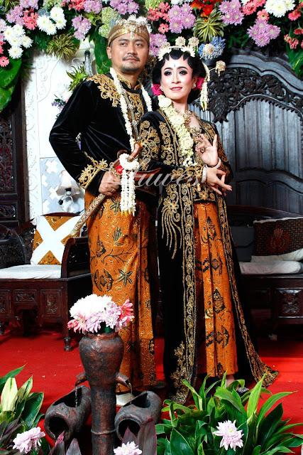 Rias pengantin dengan konsep pernikahan adat jawa paes ageng
