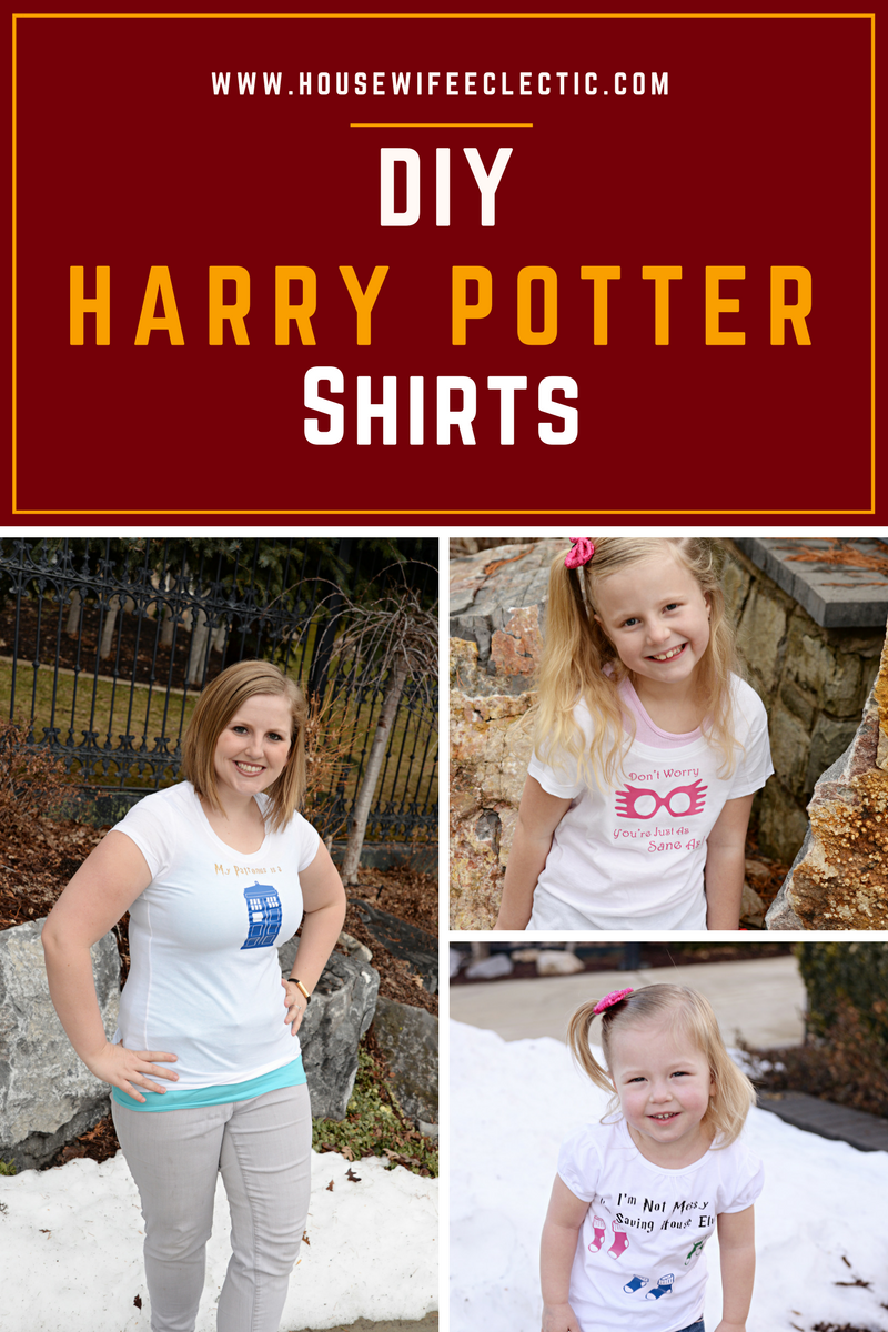 Diy Harry Potter Shirts Uploading Your Own Images With A