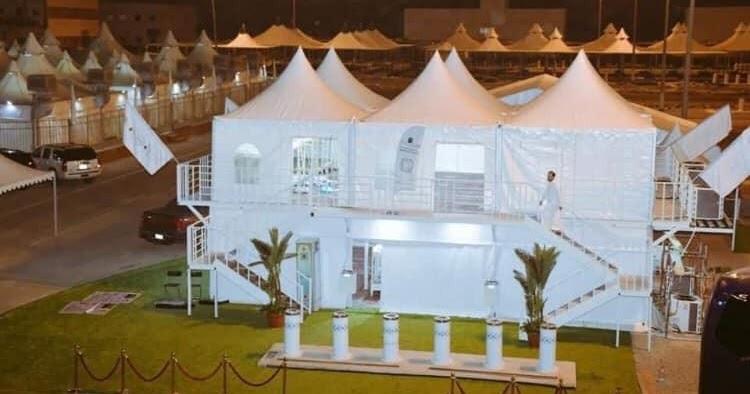 Pemerintah Saudi Jajaki Penggunaan Tenda Bertingkat di Mina