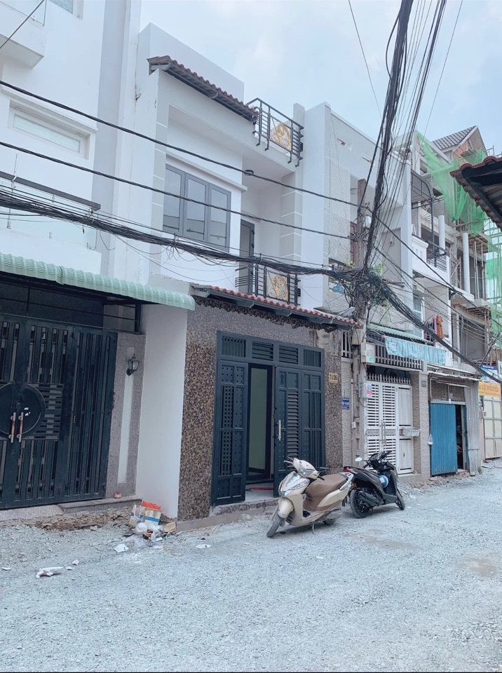 Bán nhà hẻm 5m đường Phú Thọ Hòa phường Phú Thọ Hòa quận Tân Phú. Dt 4,1 x 13m