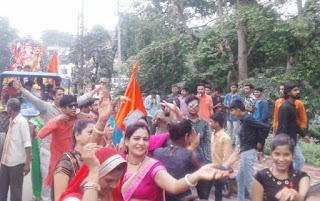 गणपति बाप्पा मोरिया, अगले बरस तू जल्दी आ के जयघोष के साथ रंगपुरा अनास नदी पर हुआ गणेश प्रतिमाओं का विसर्जन