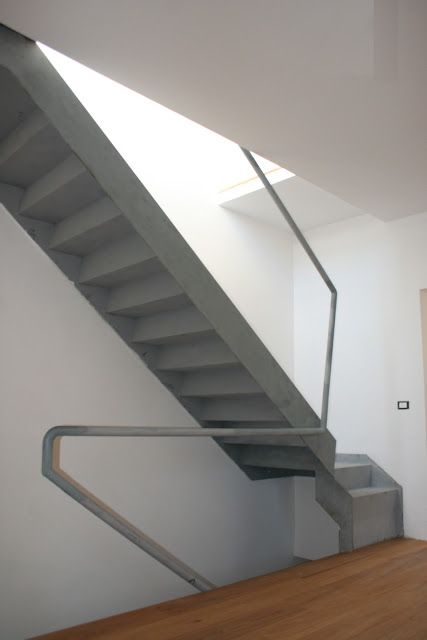 scala in accaio iron staircase